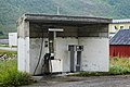 Tiny petrol station by Fv232, Grunnfarnes, Senja, Norway, 2014 August - 2.jpg