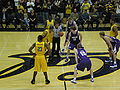 Tip off at 2008 Golden Bear Classic championship game.JPG