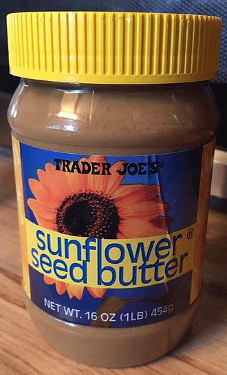 Sunflower butter - Image: Tj's sunflower butter