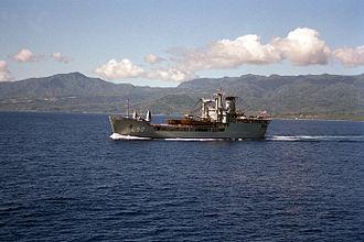 HMAS Tobruk (L 50) - HMAS Tobruk in 1987