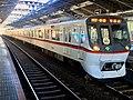 Toei Series 5300 5320F 60th Anniversary Headmark in Yotsugi Station 02.jpg