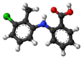Tolfenamic acid molecule ball.png