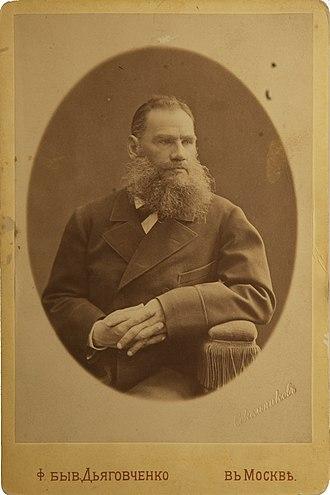 Лев Толстой 1876 год