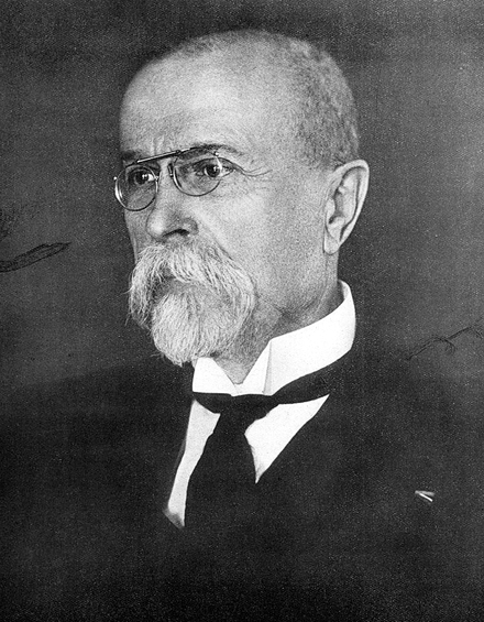 Tomas Garrigue Masaryk, founder and first president Tomas Garrigue Masaryk 1925.PNG