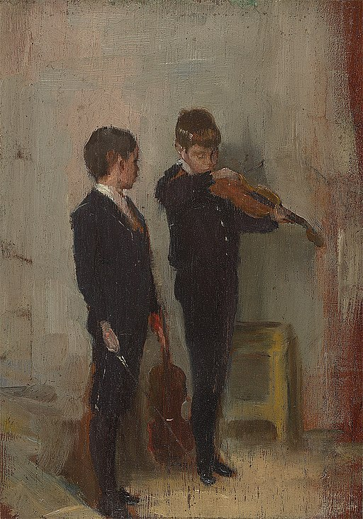 Tom Roberts Violin Lesson