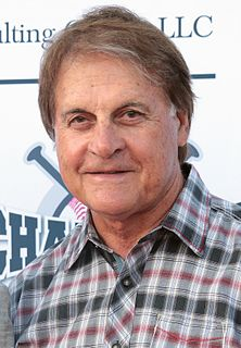 Tony La Russa American baseball player and manager