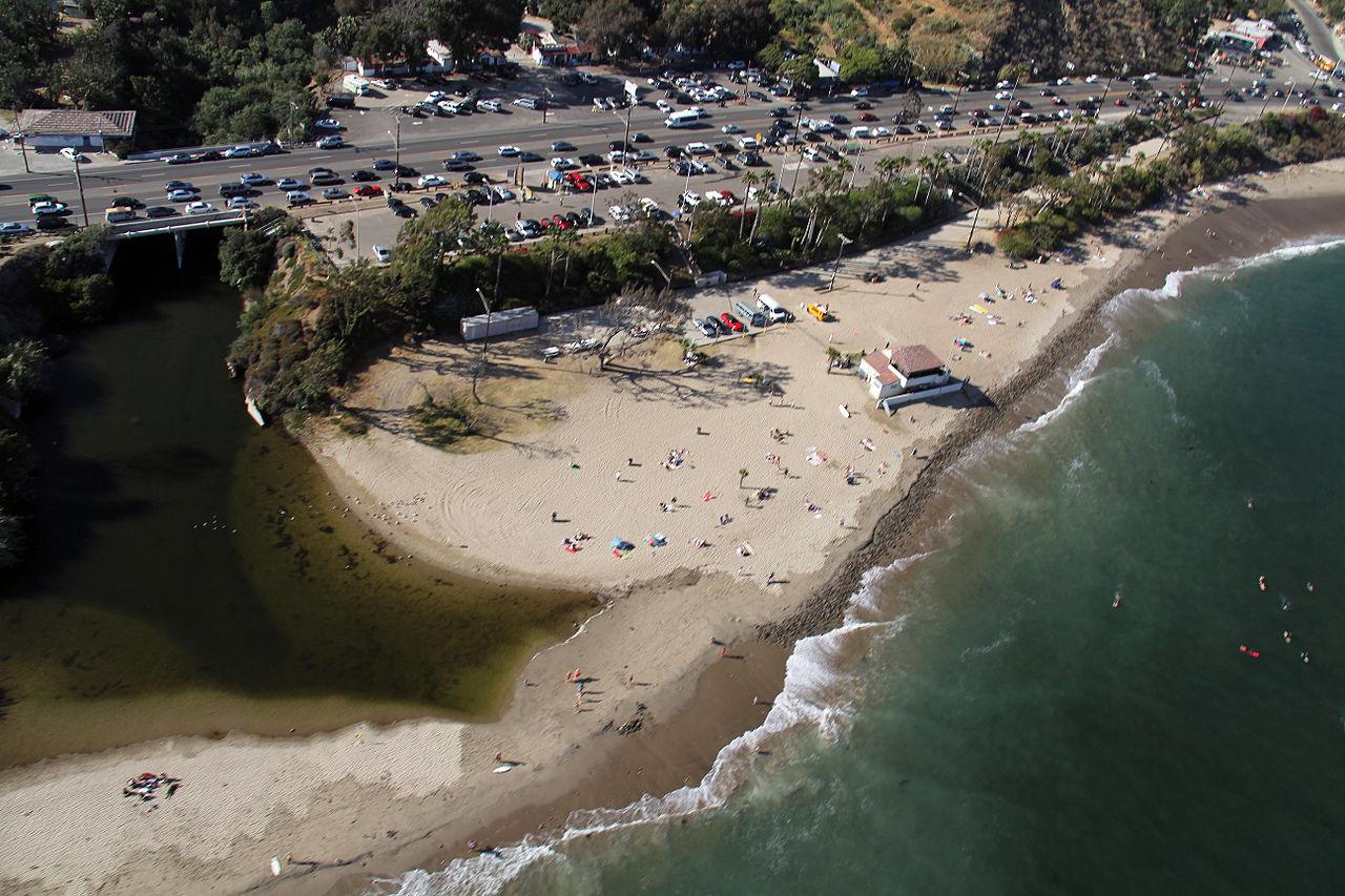 File Topanga State Beach 2b Jpg Wikimedia Commons