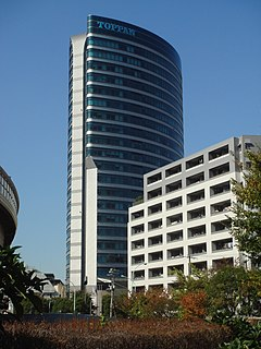 Toppan Japanese printing company
