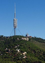 Torre Colserola retouched