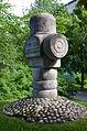 Torsten Fridh stenskulptur Norsborg 03 Brages väg.JPG