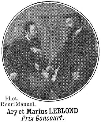 Marius-Ary Leblond - Image: Touche à tout 1910 Ary et Marius Leblond par Henri Manuel