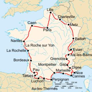 1934 Tour de France cycling race