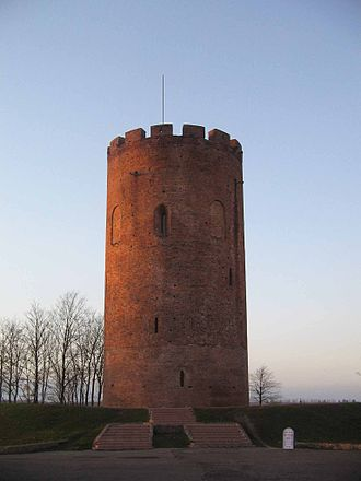 Brest Region - Image: Tower of Kamyanets