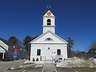 North Hampton, New Hampshire - Image: Town Hall, 1844, North Hampton NH