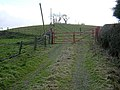 Track Leading to Glenboig Farm - geograph.org.uk - 154581.jpg