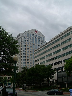 Economy of Norfolk, Virginia - Trader Square, headquarters of Dominion Enterprises