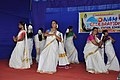 """Traditional """"thiruvathira"""" dance by Defence Civilian Employees and their family at display as part of Onam Celebration at Indian Naval Academy.jpg"""