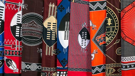 Traditional designs of cloth
