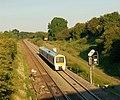 Train in Fenny Compton cutting - geograph.org.uk - 1369608.jpg