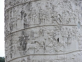 History of comics - Sequential depictions on Trajan's Column