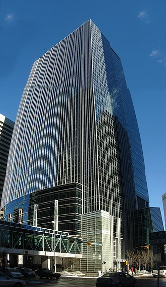 TransCanada Corporation - TransCanada Tower, company head office in Calgary