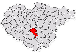 Commune Treznea in Sălaj County