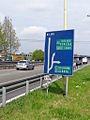 Trezzano sul Naviglio - strada statale Vigevanese - vecchio cartello stradale.jpg