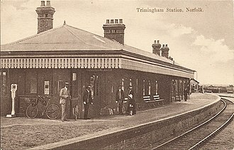 Norfolk and Suffolk Joint Railway - Trimingham station