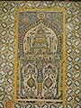 Tripoli - Gurgi-Moschee 1833 bis 34 erbaut, Wand mit Fayencen.jpg