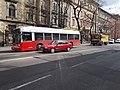 Trolley 701 and Mercedes tech support, 2016 Erzsébetváros.jpg