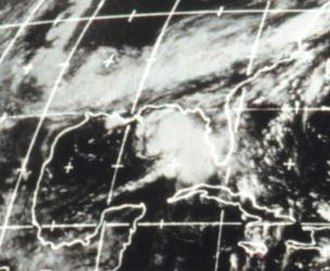 1970 Atlantic hurricane season - Image: Tropical Storm Becky (1970)