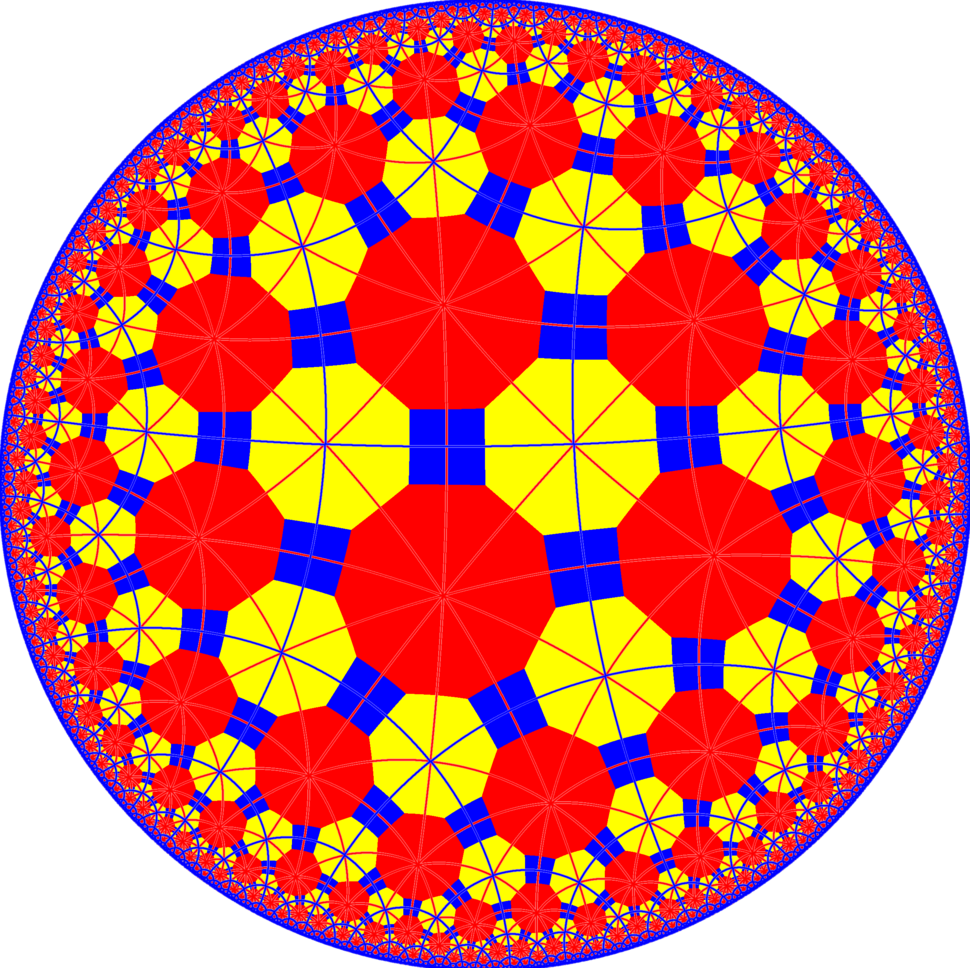 Truncated tetrapentagonal tiling with mirrors
