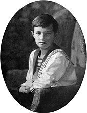 Zarévich Alexéi Nikoláyevich Romanov