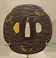 Tsuba with carp motif, Japan, Edo period, 19th century, iron - Royal Ontario Museum - DSC04281.JPG