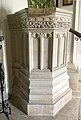 Tudor Pulpit in St Mary's Church, Beverston.jpg