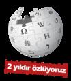 Turkish-language wikipedia logo on white with red bar.png