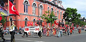 English: Turkish Canadians at the Victoria Day...