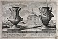 Two Egyptian porphyritic vases, one decorated with a satyr a Wellcome V0047965.jpg