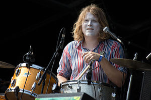 Ty Segall - Segall performing with Fuzz in 2015.