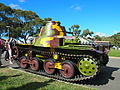 Type 95 Ha-Go tank at the 2013 AWM open day.jpg