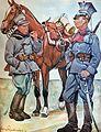 Ułani Legionów Polskich 1914-1917, akwarela A. Nałęcz-Korzeniowskiego i J. Ryszkiewicza (syn).jpg