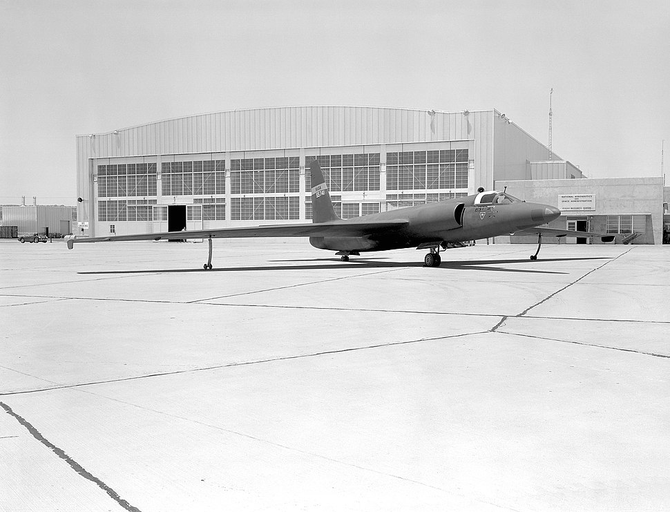 U-2 Spy Plane With Fictitious NASA Markings - GPN-2000-000112