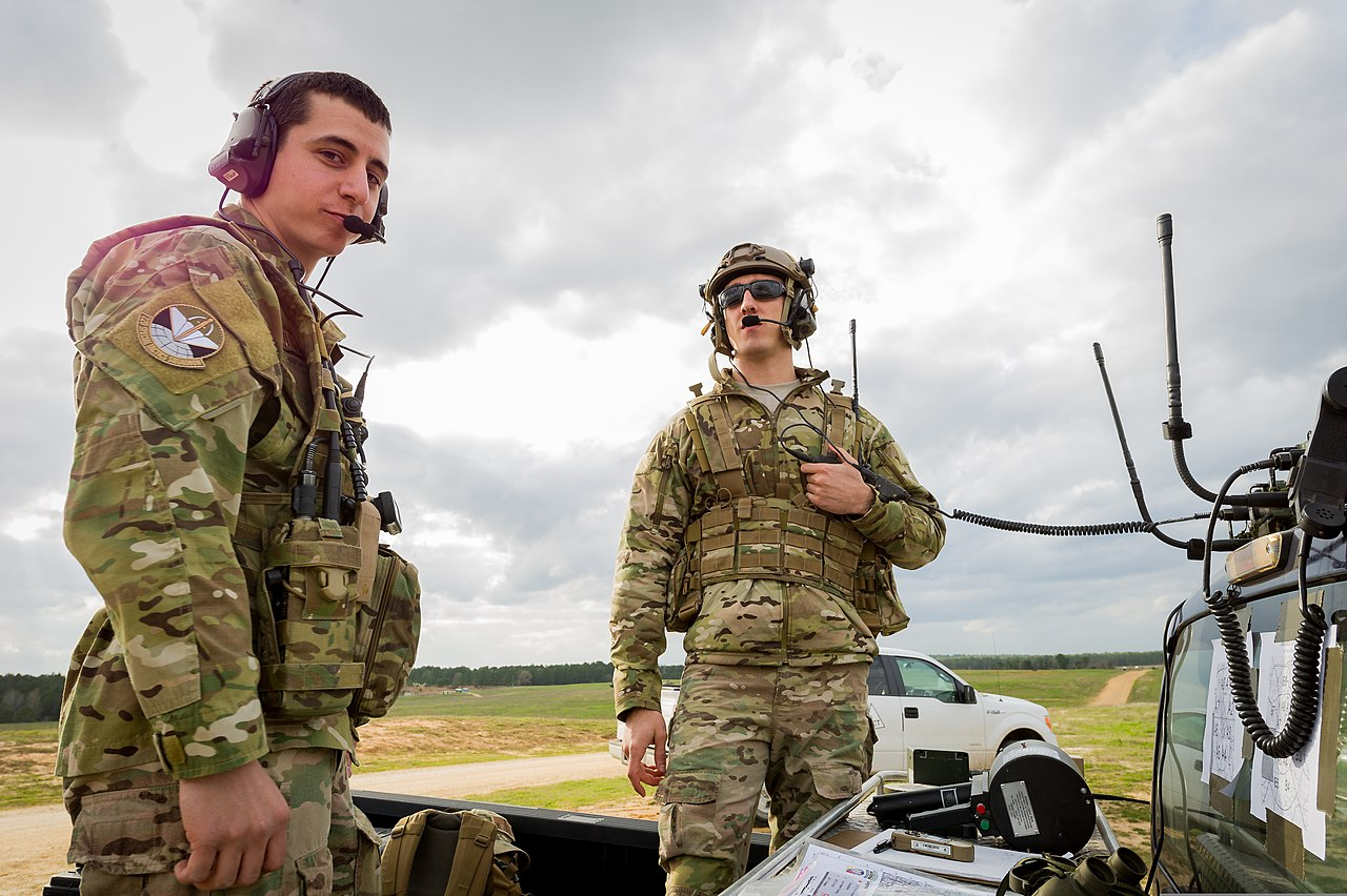 The Air Force >> File:U.S. Air Force Senior Airmen Brian Huhtala, left, and Colt Gass, both combat controllers ...
