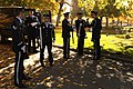 U.S. Airmen with the Hill Air Force Base Honor Guard practice before the funeral service for a fallen Airman Oct. 26, 2013, near Ogden, Utah 131026-F-SP601-034.jpg