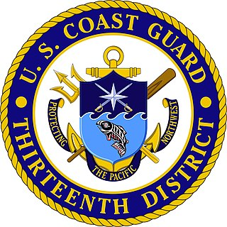 Coast Guard District 13 United States Coast Guard district for the Pacific Northwest
