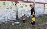 U.S. Marines, Sailors spend afternoon with children in Thailand 150610-M-TJ275-240.jpg