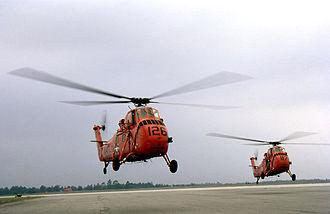 Naval Air Station Ellyson Field - UH-34Gs airborne at NAS Ellyson Field c.(Dec'67-Jan'68)