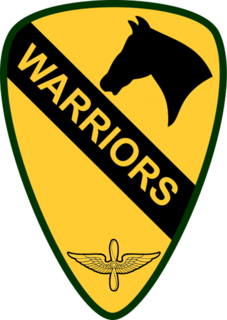 1st Air Cavalry Brigade unit of the United States Army