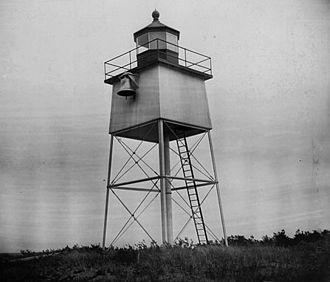 Chequamegon Point Light - USCG archive photo