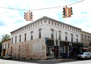 Millheim, Pennsylvania - Image: USPO Milheim PA